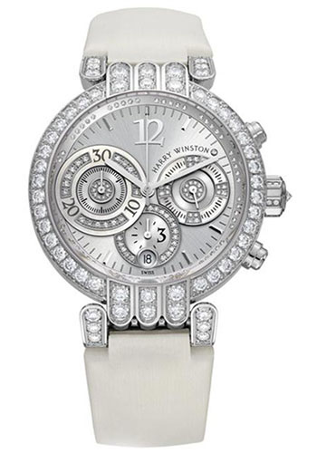Harry Winston Watches - Premier Collection Large Chronograph - Style No: PREACH39WW001
