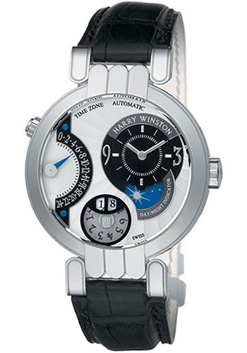 Harry Winston Watches - Premier Collection Excenter Timezone - Style No: PREATZ41WW001