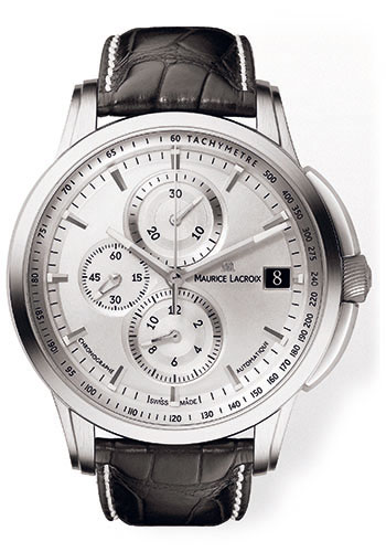 Maurice Lacroix Watches - Pontos Chronographe Valgranges - Style No: PT6128-SS001-130