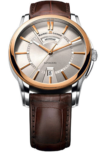 Maurice Lacroix Watches - Pontos Day-Date - Style No: PT6158-PS101-13E