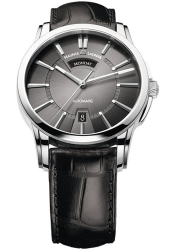 Maurice Lacroix Watches - Pontos Day-Date - Style No: PT6158-SS001-23E