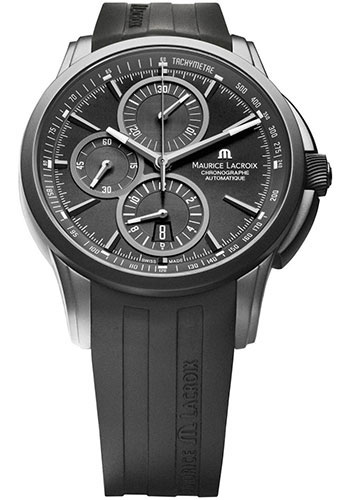 Maurice Lacroix Watches - Pontos Chronographe Full Black - Style No: PT6188-SS001-331