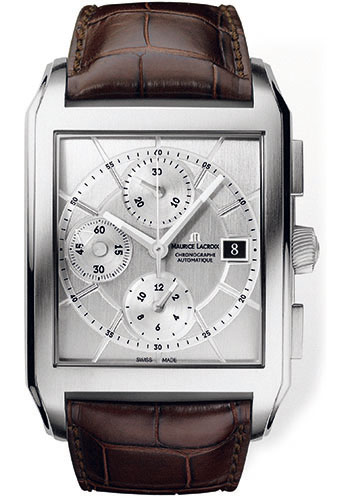 Maurice Lacroix Watches - Pontos Rectangulaire Chronographe - Style No: PT6197-SS001-130