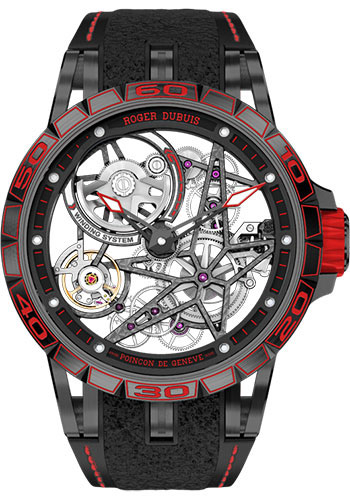 Roger Dubuis Watches - Excalibur Spider Pirelli Skeleton Automatic - Style No: RD820SQ