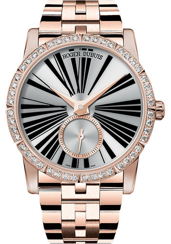 Roger Dubuis Watches - Excalibur 36 Automatic Jewellery - Pink Gold - Style No: RDDBEX0455