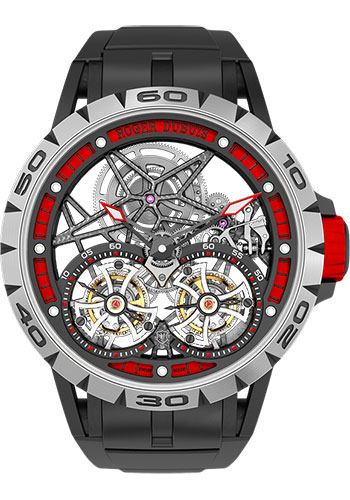 Roger Dubuis Watches - Excalibur Spider Skeleton 47 Spider Skeleton - Titanium - Style No: RDDBEX0481