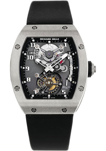 Richard Mille Watches - RM 002 - Style No: RM 002 White Gold