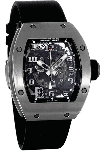 Richard Mille Watches - RM 010 - Style No: RM 010 White Gold