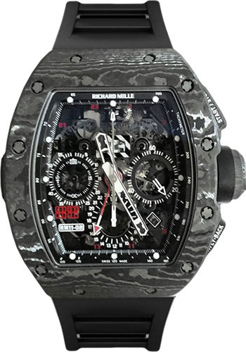 Richard Mille Watches - RM 11-02 Jet Black - Style No: RM11-02-Black-Jet