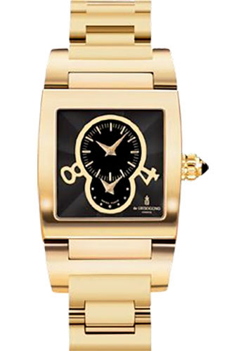 de Grisogono Watches - Tino Yellow Gold - Style No: TINO N01/B AT