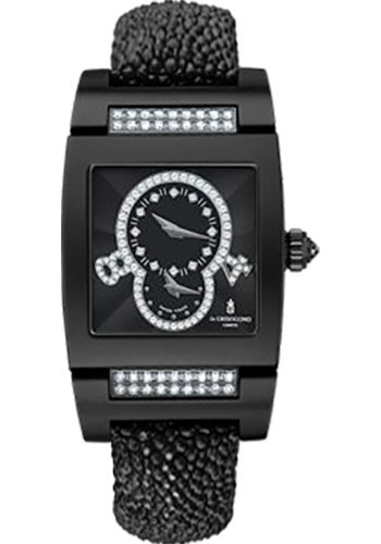de Grisogono Watches - Tino Blackened White Gold - Style No: TINO S04 QZ