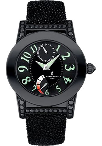 de Grisogono Watches - Tondo Blackened Stainless Steel - Style No: TONDO RM N07/A