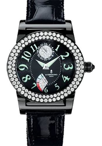 de Grisogono Watches - Tondo Blackened Stainless Steel - Style No: TONDO RM N09/A