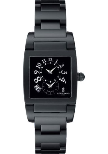 de Grisogono Watches - Uno Blackened Stainless Steel - Style No: UNO DF N04/B