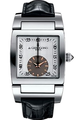 de Grisogono Watches - Uno Grande Seconde Stainless Steel - Style No: UNO GS N01