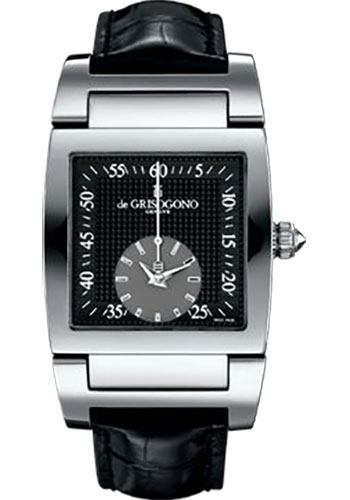 de Grisogono Watches - Uno Grande Seconde Stainless Steel - Style No: UNO GS N03