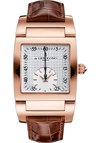 de Grisogono Watches - Uno Grande Seconde Rose Gold - Style No: UNO GS N04