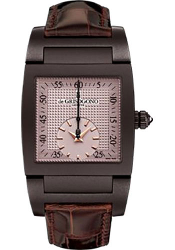de Grisogono Watches - Uno Grande Seconde Brown White Gold - Style No: UNO GS N07