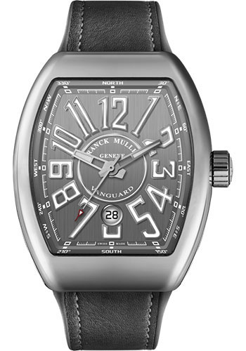 Franck Muller Watches - Vanguard Automatic - V 45 - Stainless Steel - Style No: V 45 SC DT AC Gray