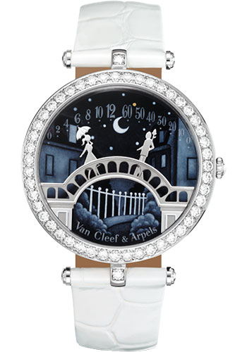 Van Cleef & Arpels Watches - Pont des Amoureux Poetic Complications - Style No: VCARN9VI00