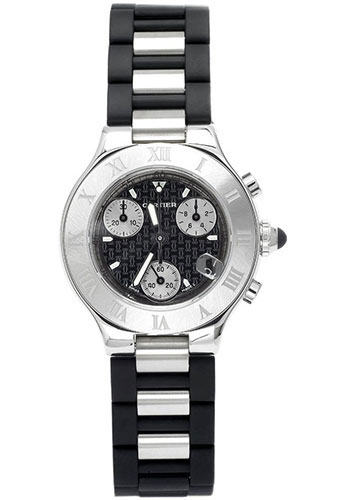 Cartier Watches - 21 32mm - Chronoscaph - Style No: W10198U2