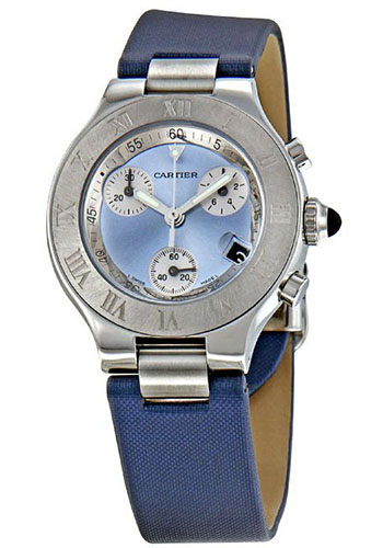Cartier Watches - 21 36mm - Chronoscaph - Style No: W1020013