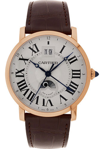 Cartier Watches - Rotonde de Cartier Large Date Second Time-Zone - Style No: W1556220