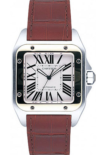 Cartier Watches - Santos 100 Large - Style No: W20072X7