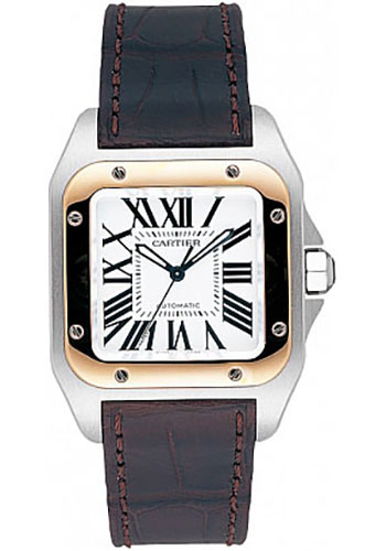 Cartier Watches - Santos 100 Medium - Style No: W20107X7