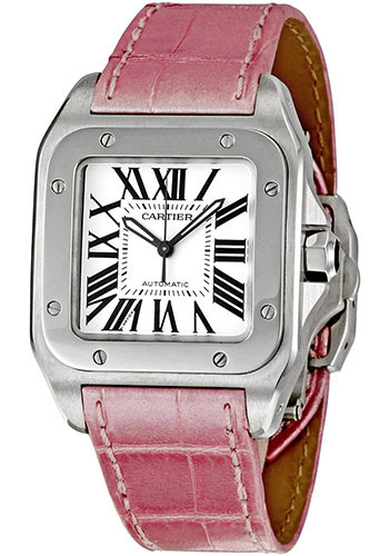 Cartier Watches - Santos 100 Medium - Style No: W20126X8