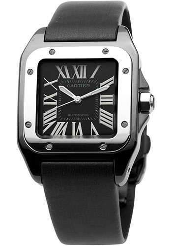 Cartier Watches - Santos 100 Medium - Style No: W2020008