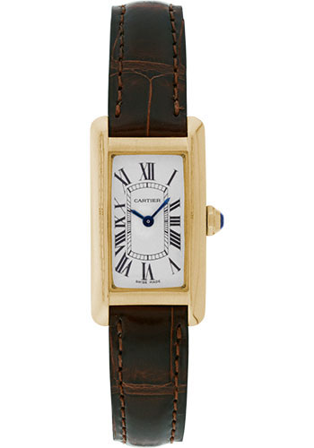 Cartier Watches - Tank Americaine Small - Yellow Gold - Style No: W2601556