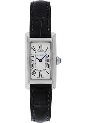Cartier Watches - Tank Americaine Small - White Gold - Style No: W2601956