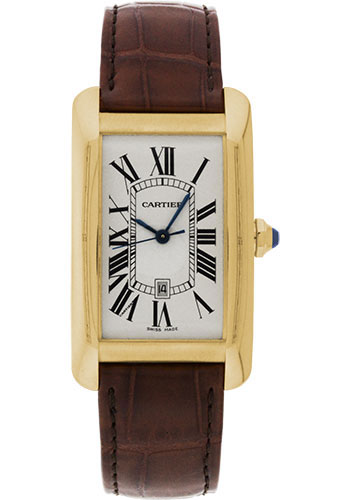 Cartier Watches - Tank Americaine Large - Yellow Gold - Style No: W2603156