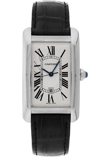 Cartier Watches - Tank Americaine Large - White Gold - Style No: W2603256