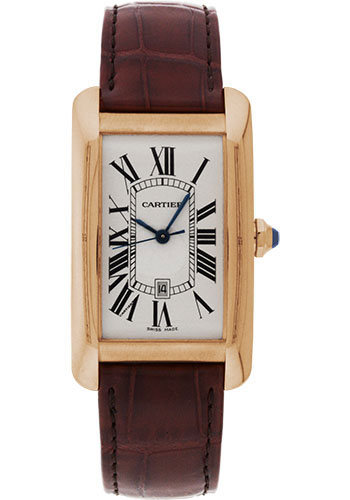 Cartier Watches - Tank Americaine Large - Pink Gold - Style No: W2609156