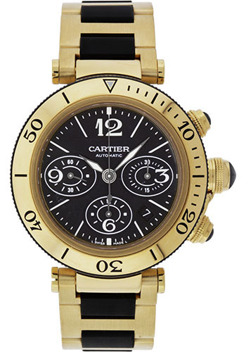 Cartier Watches - Pasha Seatimer Chronograph 42.5 mm - Style No: W301970M