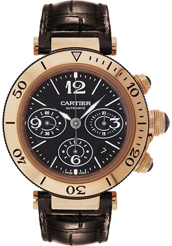 Cartier Watches - Pasha Seatimer Chronograph 42.5 mm - Style No: W3030018