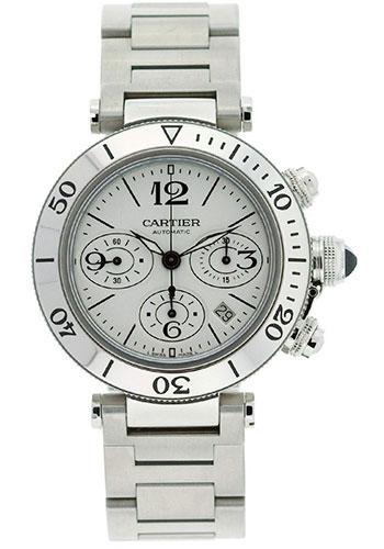 Cartier Style No  W31089M7. Cartier Pasha Seatimer Watches 5b5ea8b260