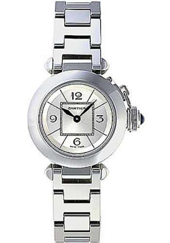 Cartier Watches - Pasha de Cartier 27 mm - Stainless Steel - Style No: W3140007