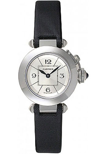 Cartier Watches - Pasha de Cartier 27 mm - Stainless Steel - Style No: W3140025