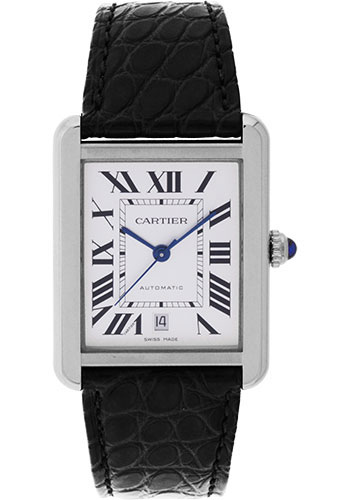 Cartier Watches - Tank Solo Extra Large - Style No: W5200027