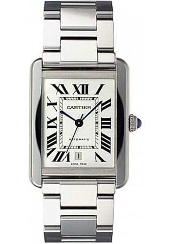 Cartier Watches - Tank Solo Extra Large - Style No: W5200028