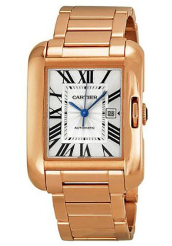 Cartier Watches - Tank Anglaise Pink Gold - Style No: W5310003