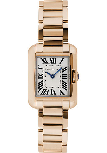 Cartier Watches - Tank Anglaise Pink Gold - Style No: W5310013
