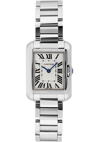 Cartier Watches - Tank Anglaise Stainless Steel - Style No: W5310022
