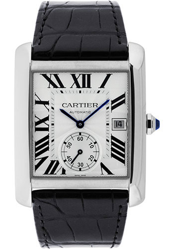 Cartier Watches - Tank MC Stainless Steel - Style No: W5330003