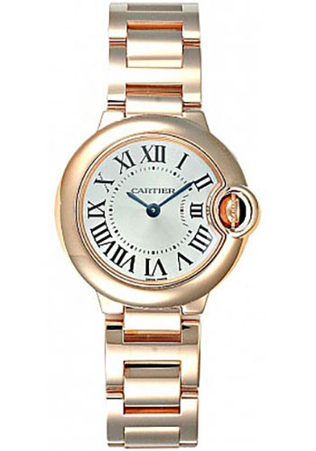 Cartier Watches - Ballon Bleu 28mm - Pink Gold - Style No: W69002Z2
