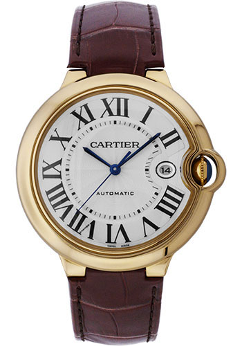 Cartier Watches - Ballon Bleu 42mm - Yellow Gold - Style No: W6900551