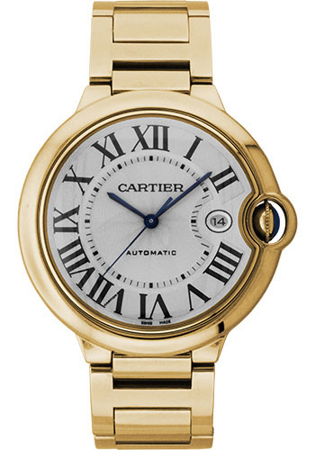 Cartier Watches - Ballon Bleu 42mm - Yellow Gold - Style No: W69005Z2